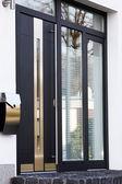 Modern front door — Stock Photo