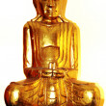 Golden Buddha — Stock Photo #2891698