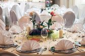 Festive table — Stockfoto