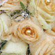 Bridal bouquet flowers — Foto Stock