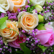 Stock Photo: Bridal bouquet flowers