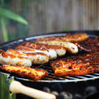 Barbecue or grill — Stock Photo
