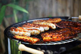 Barbecue or grill — Stockfoto