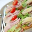 Appetizers or finger food — Stockfoto