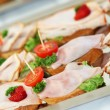 Appetizers or finger food — Foto de stock #3485260