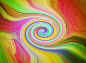 Abstract spiral colored lines as a background — Stock Photo