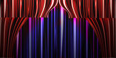Theater curtain background — Stock Photo