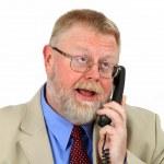 Businessman calling — Stock Photo #2740356