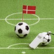Royalty-Free Stock Photo: Danish soccer ball