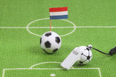 Dutch soccer ball — Foto Stock