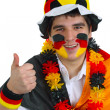 German soccer fan — Foto Stock