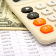 Calculation of payments under the credit - Stock Photo