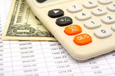 Calculation of payments under the credit — Stock Photo