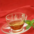 Fresh organic herbal tea in a cup — Stock Photo #2888309