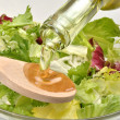 Stock Photo: Olive oil to make fresh salad