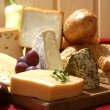 Cheese platter — Stock Photo #3056482