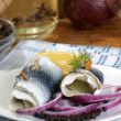 Some fresh organic rollmops — Stock Photo #3515699