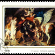 Postage stamp. Rubens. - Photo