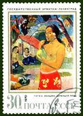 Postage stamp. Gauguin. — Stock Photo