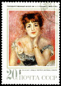 Vintage postage stamp. Renoir. — Stock Photo