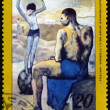 Postage stamp. Picture Picasso — Stock Photo