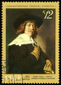 Postage stamp. Picture France Gals. — Stock Photo