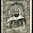 Postage stamp. Emir Abdel Kader — Stock Photo