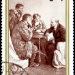 Vintage postage stamp. Century of Lenin - Stock Photo