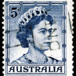 Royalty-Free Stock Photo: Vintage postage stamp. Elizabeth II