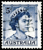 Vintage postage stamp. Elizabeth II — Stock Photo
