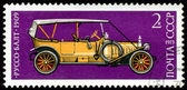 Postage stamp. Car Russo - Balt - 1909. — Stock Photo