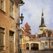 Old Tallinn - Stock Photo