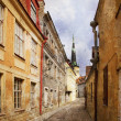 Old alley. Tallinn — Stock Photo