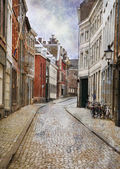 Street of Maastricht, Netherlands — Stock Photo
