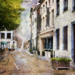 Stock Photo: Streets of Maastricht, Netherlands