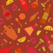 Images of food and drink — Imagen vectorial