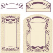 Art Nouveau - Stock Vector