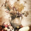 Vintage nature morte — Photo