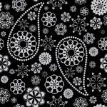 Paisley naadloze — Stockvector