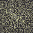 Royalty-Free Stock Vector Image: Paisley seamless