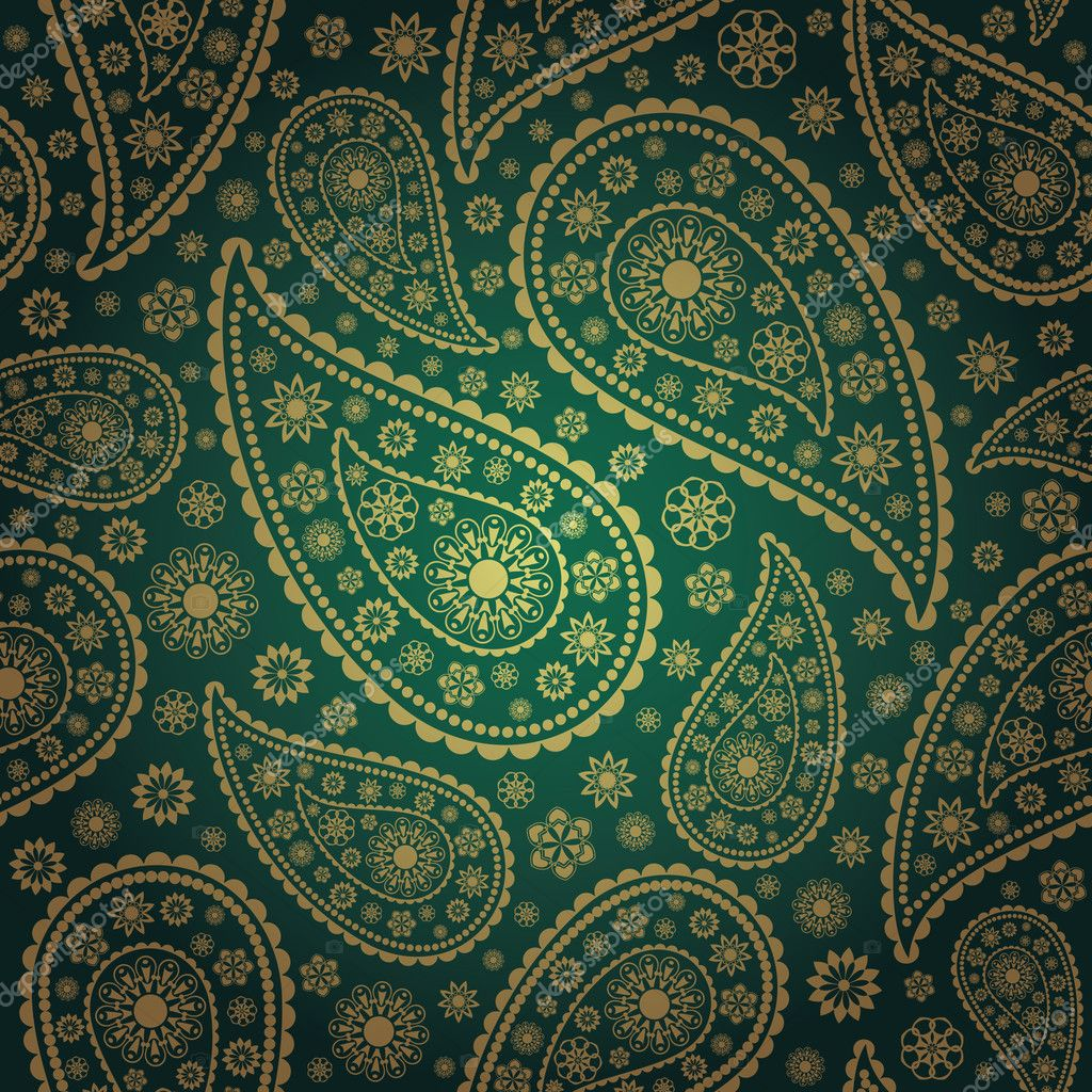 Paisley seamless  Stock Vector #2885967