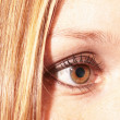 Brown eyed girl — Stock Photo