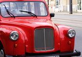 Retro car (red) — Stock Photo