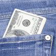 Money in the pocket — Stock Photo #2710236