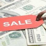 Sale money. Dollar — Stock Photo #2710979