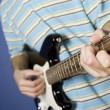 Guitar player — Stock Photo
