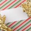 christmas invitation — Stock Photo