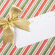 Foto Stock: Christmas invitation