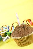 Festive fruitcake — Stock Photo