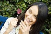 Beauties: Lollipop — Stock Photo